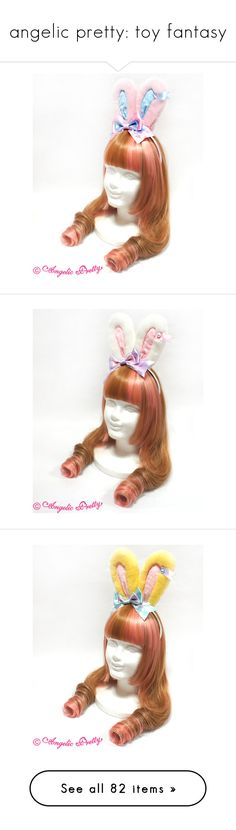 """angelic pretty: toy fantasy"" by scoutvenus ❤ liked on Polyvore featuring jewelry, necklaces, bubble necklace, bubble jewelry, bunny rabbit necklace, bunny jewelry, bunny rabbit jewelry, rings, bubble ring and bunny rabbit ring"