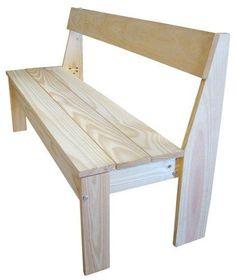Banco jardim tabuas madeira