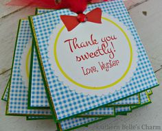 Wizard of Oz Favor Tags...Set of 12 Favor Tags with Custom Wording.. $38.00, via Etsy.