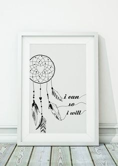 Dream Catcher Jpeg A4 8x10 INSTANT DOWNLOAD by ohmyframe