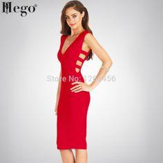 HEGO Women 2015 New High Quality Deep V-neck Turlington Bustier Dress Women Celebrity Club Dress Club Dresses, Formal Dresses, Tassel Skirt, Bustier Dress, Women Brands, New Model, Cheap Dresses, Skirt Fashion, Celebrity
