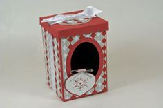 Christmas Box How To Splitcoaststampers - Tutorials