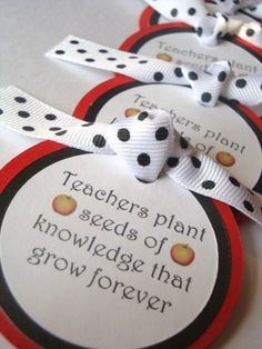 Back to School TEACHER Appreciation party by chocolatetulipdesign, $3.40