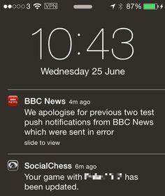 news notifications - Google zoeken