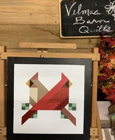 Barn Quilt Designs, Barn Quilt Patterns, Quilting Designs, Painted Barn Quilts, Bird Barn, Barn Art, Bird Quilt, American Quilt, Pink Quilts