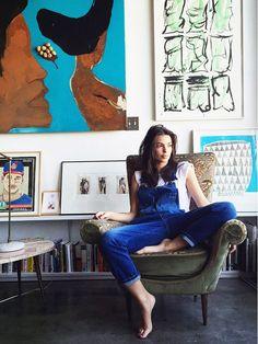 Vogue Takes Us Inside Emily Ratajkowski's Art-Centric Downtown LA Loft