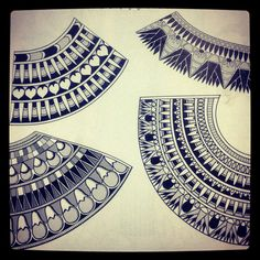 Azza Fahmy patterns