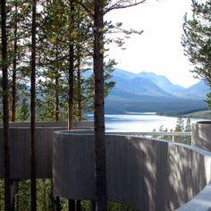 Sohlbergplassen Viewpoint/Landscape Architecture: Carl-Viggo Hølmebakk/ Atnasjön, Norway