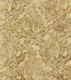 Indonesian Batik Fabric-Natural Branches