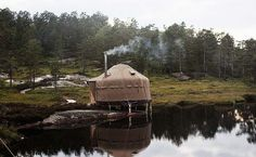 Yurt Hotel in Southern Norway, Norway