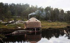 Yurt Hotel in Southern Norway, Norway
