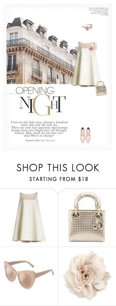"""""""OPENING NIGHT"""" by paint-it-black ❤ liked on Polyvore featuring Emilia Wickstead, Christian Dior, STELLA McCARTNEY and Cara"""