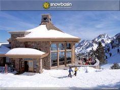 Snow Basin Ski Resort, Ogden, Utah