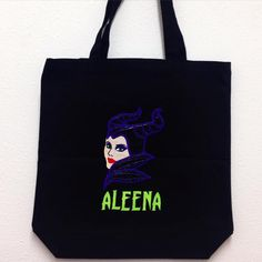 Personalized Maleficent Trick or Treat Bag
