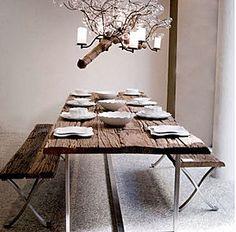 34 fantastiche immagini in tavolo in legno su Pinterest | Dinning ...
