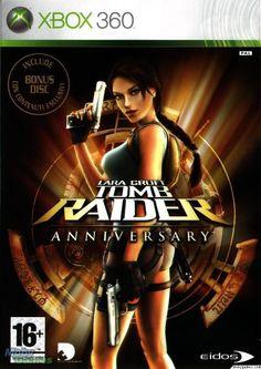 TOMB RAIDER   Anniversary   CD + Bonus Disc  XBOX 360 ITALIANO!!!