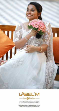18 Best Of Malayalee Wedding Dress Pictures Malayalee Wedding Dress , 47 Hairstyles for Kerala Hindu Wedding, Christian Wedding Graphy Kerala, Hairstyles for Hindu Wedding [. Christian Wedding Dress, Christian Bridal Saree, Christian Bride, Christian Weddings, White Saree Wedding, Modest Wedding Gowns, Wedding Sarees, Bridal Sarees, White Bridal