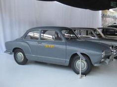 OG | 1955-56 Volkswagen / VW EA 47-12 | Prototype designed by Ghia dedicated to succeed to the Beetle.