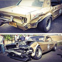 1 of 3 1968 Holman & Moody 427 FE Roadrace Car, The hazards of vintage racing