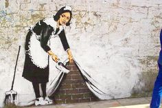 banksy {one of my favorite street artists}