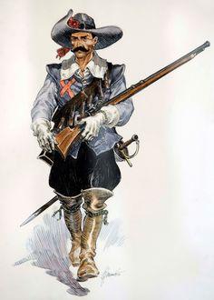 Captain Alatriste - Spanish Tercio musketeer (17th. Century)
