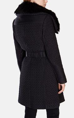 Karen Millen   Lightweight Quilted Coat   $447