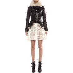 Leather Jacket Alexander McQueen | Jacket | Jackets Coats |