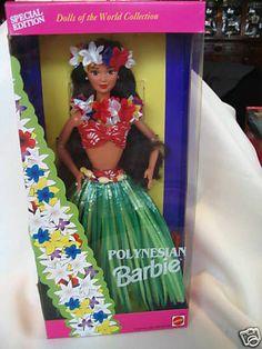 1994 Polynesian Barbie Dolls of the World doll