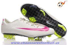 e8b19a6d879 Nike Mercurial Vapor Superfly III FG Blanc pink FT8025
