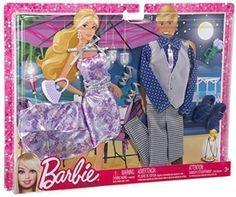 Barbie Mode für Barbie und Ken - Date Night Moden Mattel Barbie, Barbie Und Ken, Barbie Mode, Barbie Dolls, Barbie Van, Barbie Stuff, Vintage Barbie Kleidung, Vintage Barbie Clothes, Doll Clothes
