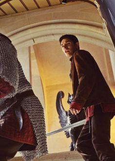 Colin Morgan as #Merlin