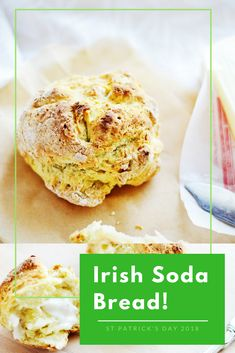 St. Patrick's Day is just around the corner which means it's time for one of my favorite things—soda bread!! 😋💕