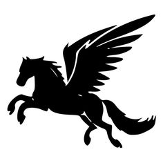Fantasy Pegasus Collection - (dxf, eps, pdf, png, svg ...