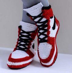 bd7ec060f65ab Kids Slippers Toddler Footwear House Crocheted slippers Nike Air ...