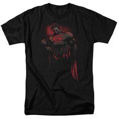 Superman Red Son Black T-Shirt