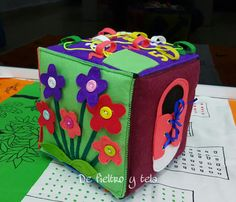 Box quiet Quiet cube by DeFieltroyTela on Etsy