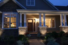 Craftsman Exterior Design Ideas, Pictures, Remodel, and Decor - page 60