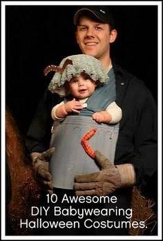 DYI Babywearing costume