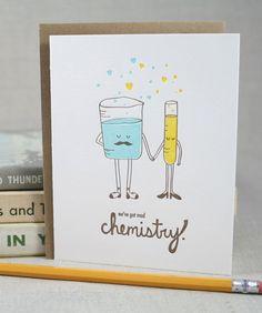Chemistry Card.