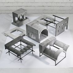 reconciling infrastructural artefacts by roberto boettger Coupes Architecture, Concrete Architecture, Architecture Drawings, Interior Architecture, Interior Design, Architecture Diagrams, Architecture Portfolio, Architectural Association, Architectural Models