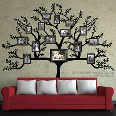 Interesting and lovely concept of showing your family tree