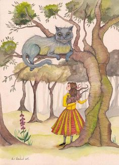 'The Cheshire Cat' by E C Woodard
