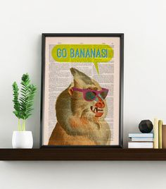 Hey, I found this really awesome Etsy listing at https://www.etsy.com/ie/listing/205663434/wall-art-home-decor-crazy-mandrill-go
