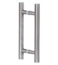 16 Inch Contemporary Stainless Steel Glass Door Pulls Pair Commercial Glass Doors Stainless Steel Doors Glass Shower Doors