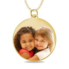 Wouldn't this make a gift to be treasured forever?  We photoengrave your picture on the pendant.  Engrave a special message on the back side.