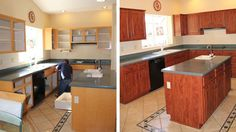 Cabinets+Before+and+After | Cabinet Refacing - Before and After