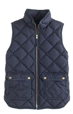 Quilted vest by jcrew http://rstyle.me/~353n6