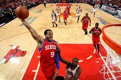 NBA: EASTERN CONFERENCE 1ST ROUND GAME 2  76ers 109 Bulls 92 FINAL  Top Performer- J. Holiday 26 Pts, 2 Reb, 6 Ast, 1 Stl    SERIES TIED 1-1  keepinitrealsports.tumblr.com  keepinitrealsports.wordpress.com