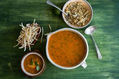 NYT Cooking: Tortilla Soup With Roasted Cauliflower 'Rice'
