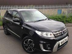 Used 2015 (15 reg)  Black Suzuki Vitara 1.6 SZ-T 5dr for sale on RAC Cars